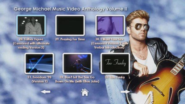 George Michael Music Video Anthology Vol. II MENU Page 3 of 5