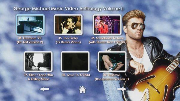 George Michael Music Video Anthology Vol. II MENU Page 4 of 5