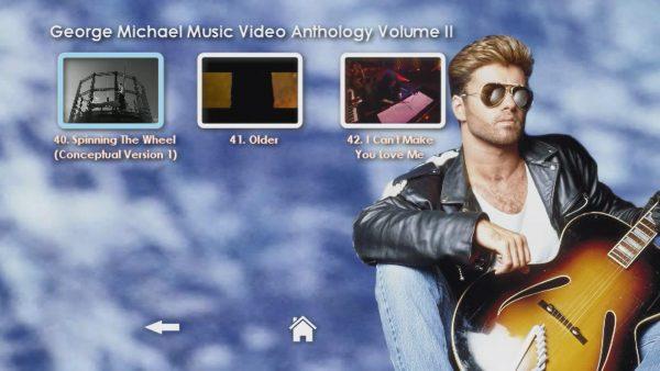 George Michael Music Video Anthology Vol. II MENU Page 5 of 5