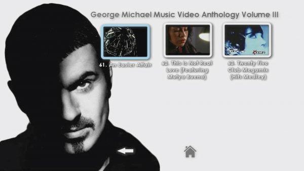 George Michael Music Video Anthology Vol. III MENU Page 5 of 5