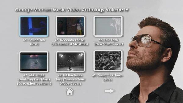 George Michael Music Video Anthology Vol. IV MENU Page 2 of 5