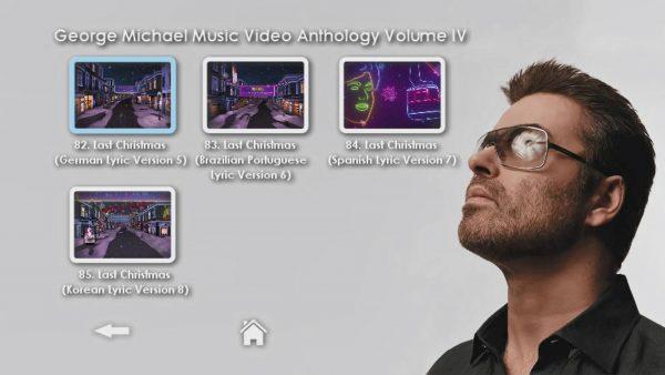 George Michael Music Video Anthology Vol. IV MENU Page 5 of 5