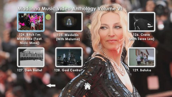 Madonna Anthology Volume VI Menu Page 4