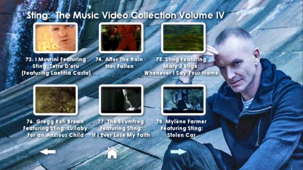 STING Music Video Anthology Volume IV Menu Page_2