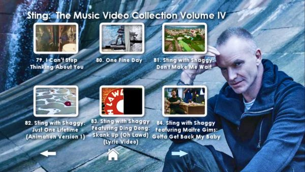 STING Music Video Anthology Volume IV Menu Page_3