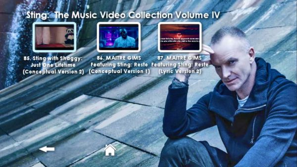STING Music Video Anthology Volume IV Menu Page_4