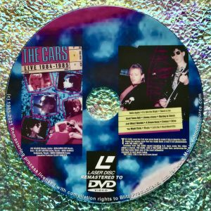 THE CARS LIVE 1984-1985 (1985) (Remastered from LaserDisc to DVD)
