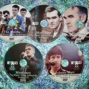 The Smiths, Morrissey and Johnny Marr The Music Video Anthology 1982-2019 5 DVD Set