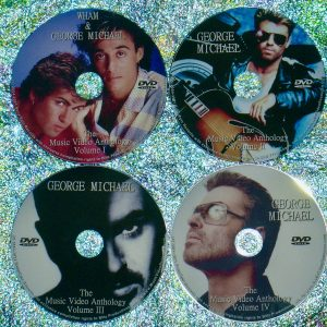 Wham and George Michael The Music Video & Remix Anthology 1982-2021 (4 DVD 85 Music Videos-6 HOURS)
