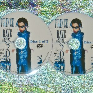 'Prince- Rave un2 The Year 2000 ORIGINAL PAY-PER VIEW FULL LENGTH CONCERT 2 DVD Set - Air Date 12/31/99