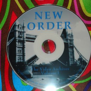 New Order / Joy Division Video Archives 1987-2005 (1 Hr. 45 Mins.)