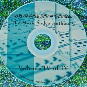 1970's, 80's & 90'S Rap Music Video Collection Volume IV of IV (A Tribe CalledQuest, The Geto Boys, Eric B. And Rakim, Slick Rick, LL Cool J, Ice-T, Young MC, Big Daddy Kane, Salt 'n Pepa, Kurtis Blow, Heavy D. and The Boyz, Public Enemy, Bushwick Bill)