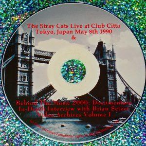 Brian Setzer Stray Cats Rockabilly Video Archives Volume VI