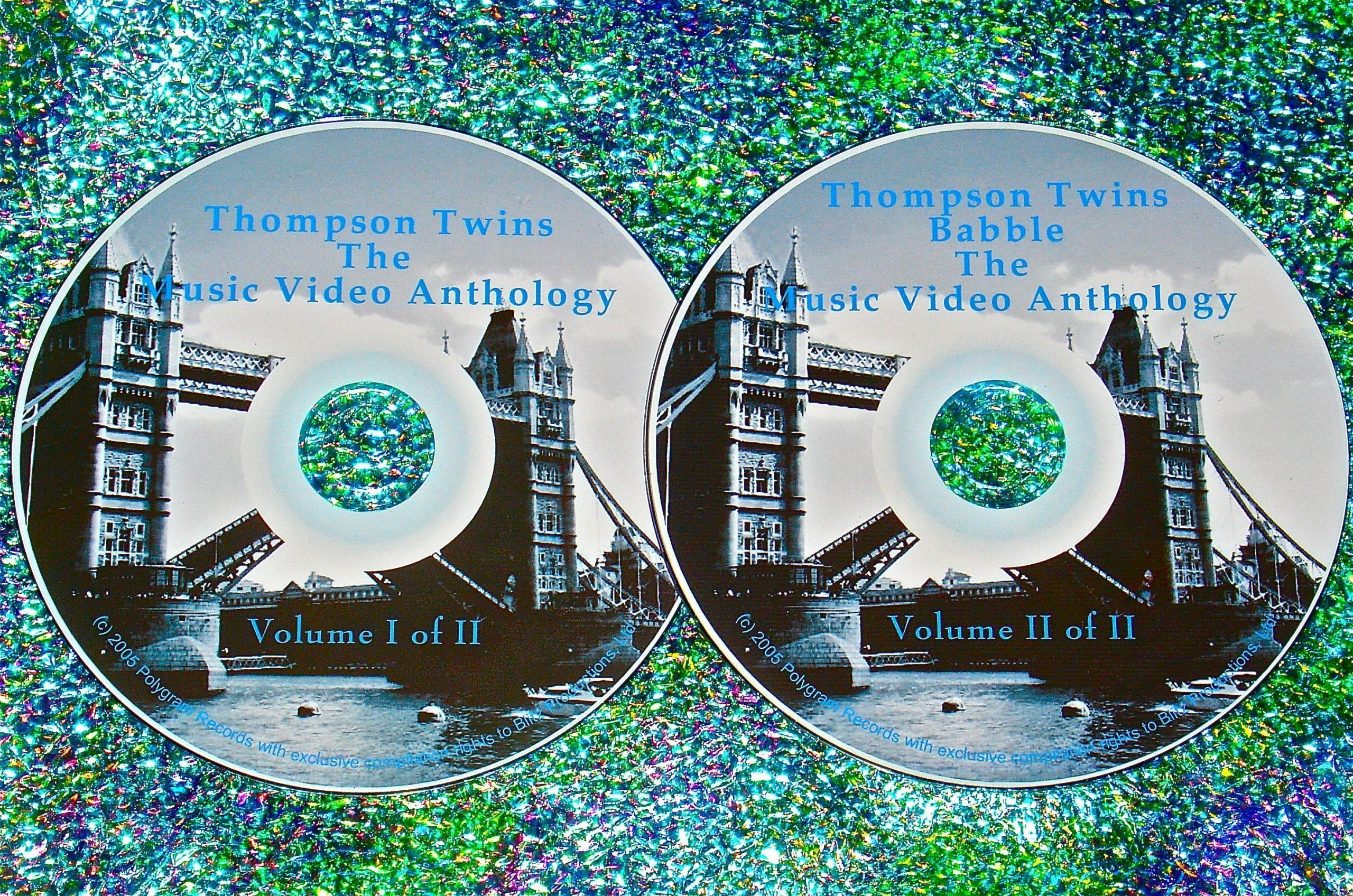 Thompson Twins & Babble: The Music Video Anthology & Live 1982-1993 2 DVD Set UPDATED!!!
