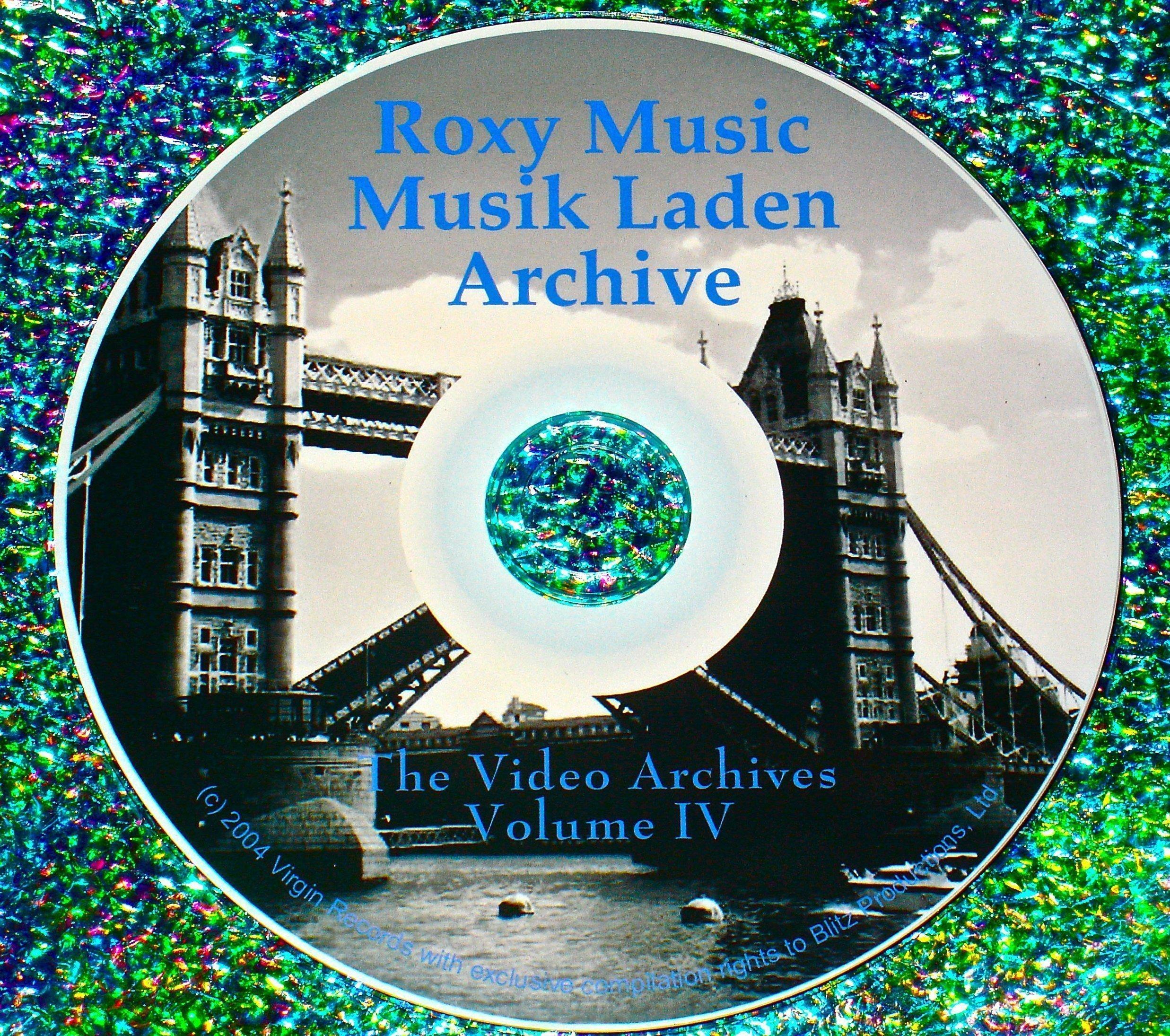Roxy Music (Bryan Ferry): MusikLaden Germany Video Archives Volume IV