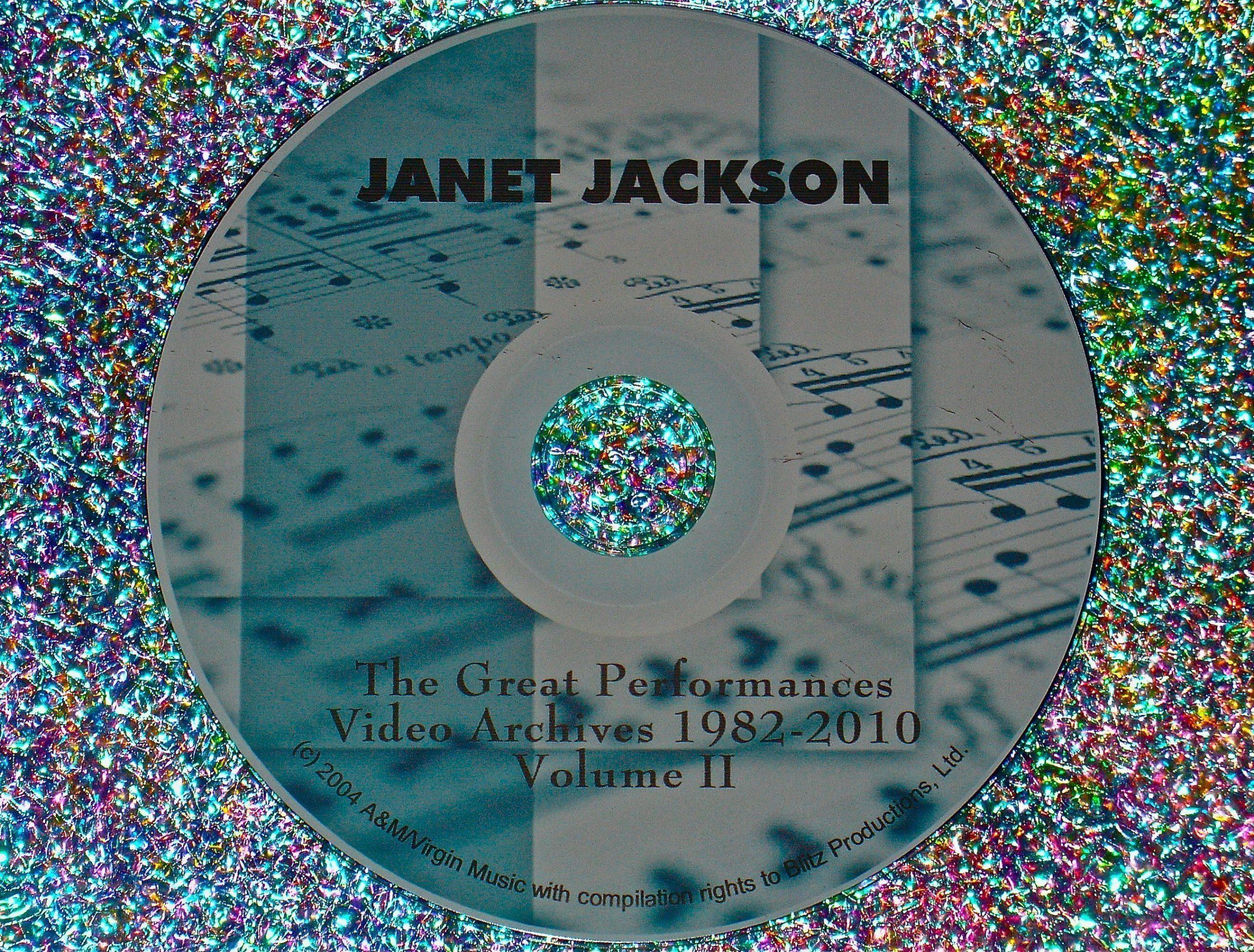 Janet Jackson Greatest Performances Video Archives 1982-2010 Volume II (2 Hrs.)