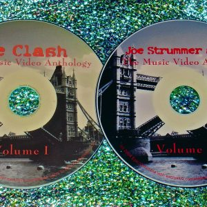 The Clash, Big Audio Dynamite (B.A.D.) & Joe Strummer Music Video Anthology (2 DVD Set 4 Hours)