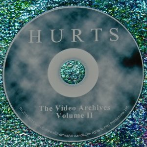 HURTS (Theo Hutchcraft & Adam Anderson) THE VIDEO ARCHIVES 2011 VOLUME II DVD