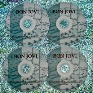 Bon Jovi (Jon Bon Jovi and Richie Sambora Solo) The Music Video Anthology 1984-2009 (4 DVD Set)