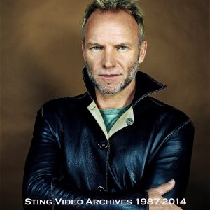 Sting The WORLD WIDE Video Archives 1987-2014 (30 DVD Set 60 Hours)
