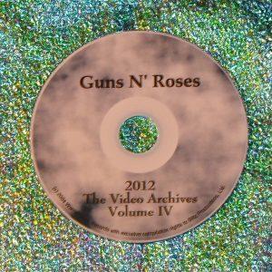 GUNS 'N ROSES The Video Archives 2012 Volume IV