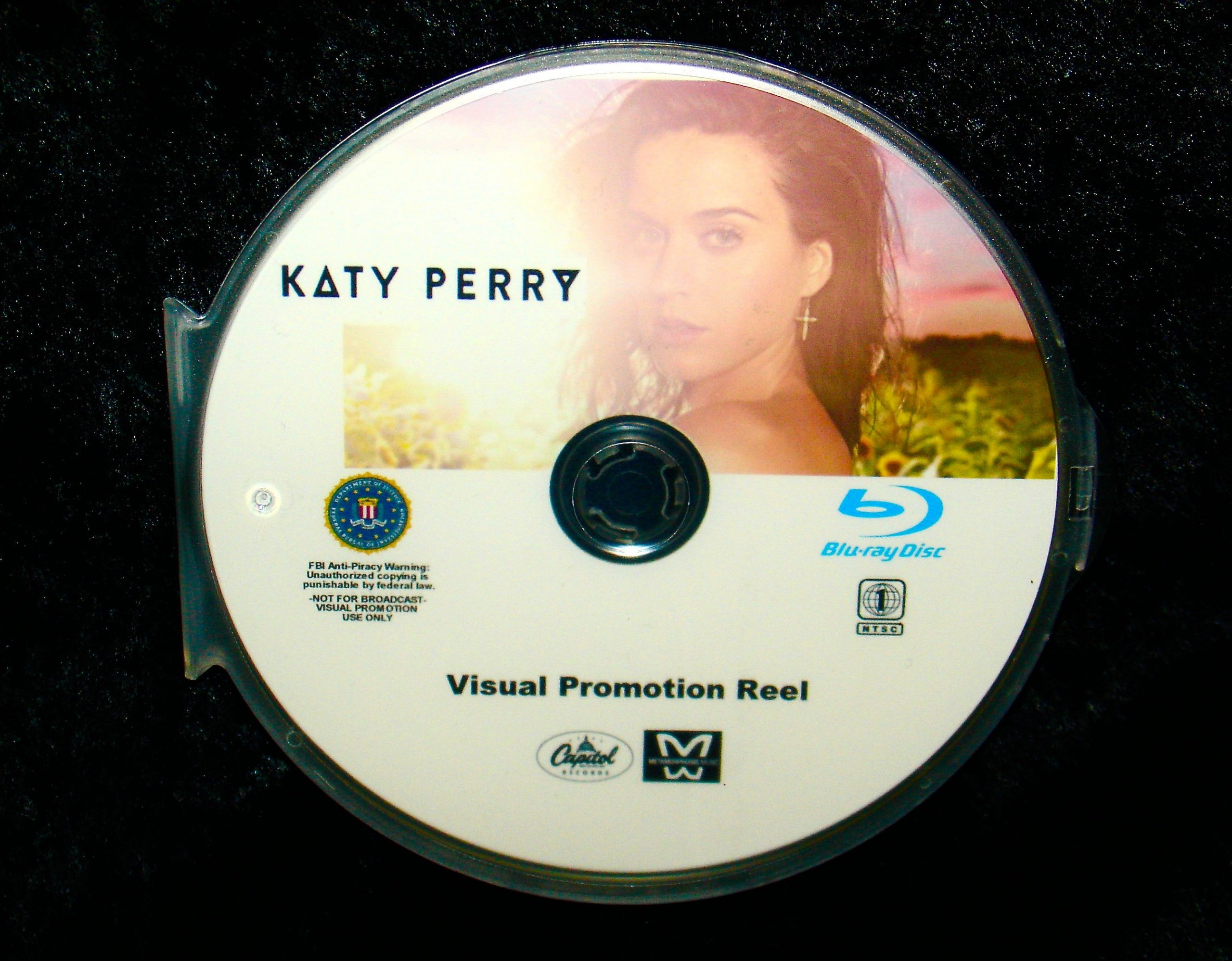 Katy Perry The Music Video Anthology 2008-2015 BLU-RAY DVD format only