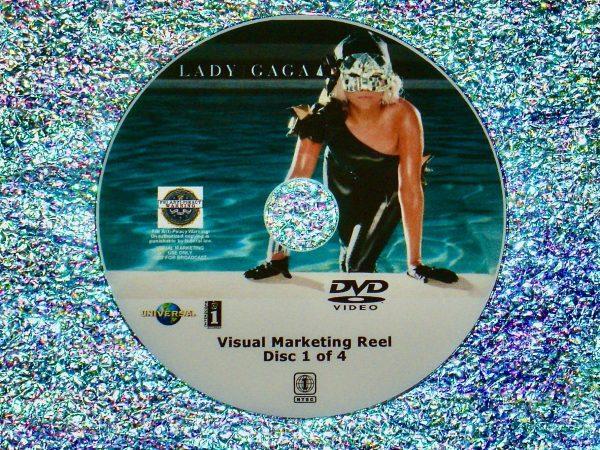 LADY GAGA Visual Marketing MUSIC VIDEO Reel DVD 1