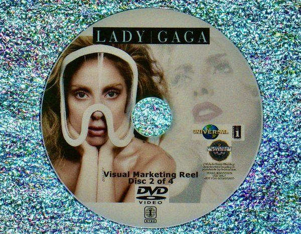 LADY GAGA Visual Marketing MUSIC VIDEO Reel DVD 2