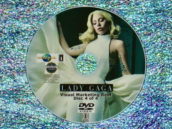 LADY GAGA Visual Marketing MUSIC VIDEO Reel DVD 4