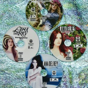 LANA DEL REY Music Video Visual Marketing Reel 4 DVD Set 2010-2020