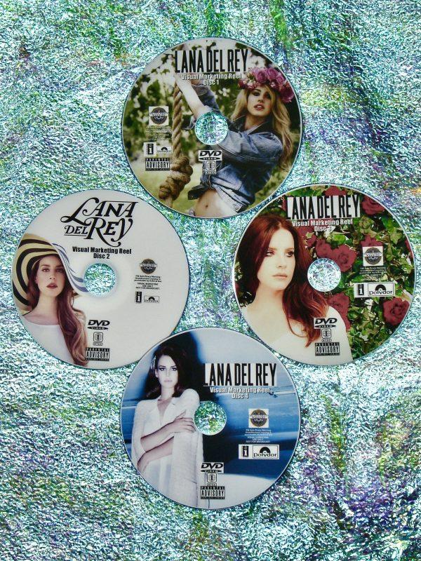 LANA DEL REY Music Video Visual Marketing Reel 4 DVD Set 2010-2020