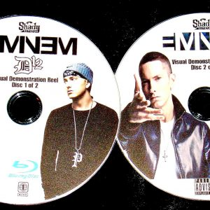 EMINEM and D12 Visual Demonstration Reel 70 Music Videos 2 BLU-RAY DVD Set (Blu-Ray Format only)