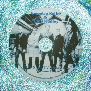 SPANDAU BALLET Video Archives 2010-2015 VOLUME IV