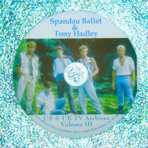 SPANDAU BALLET Video Archives 1982-1999 VOLUME III