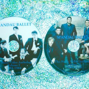 Spandau Ballet & Tony Hadley The Music Video Anthology 1981-2015 Volumes I & II (2 DVD Set) (includes FOURTY-TWO music videos in all spanning the years from 1981 to 2015 including a rare selection of Tony Hadley's solo efforts spanning from 1993 to 2011)