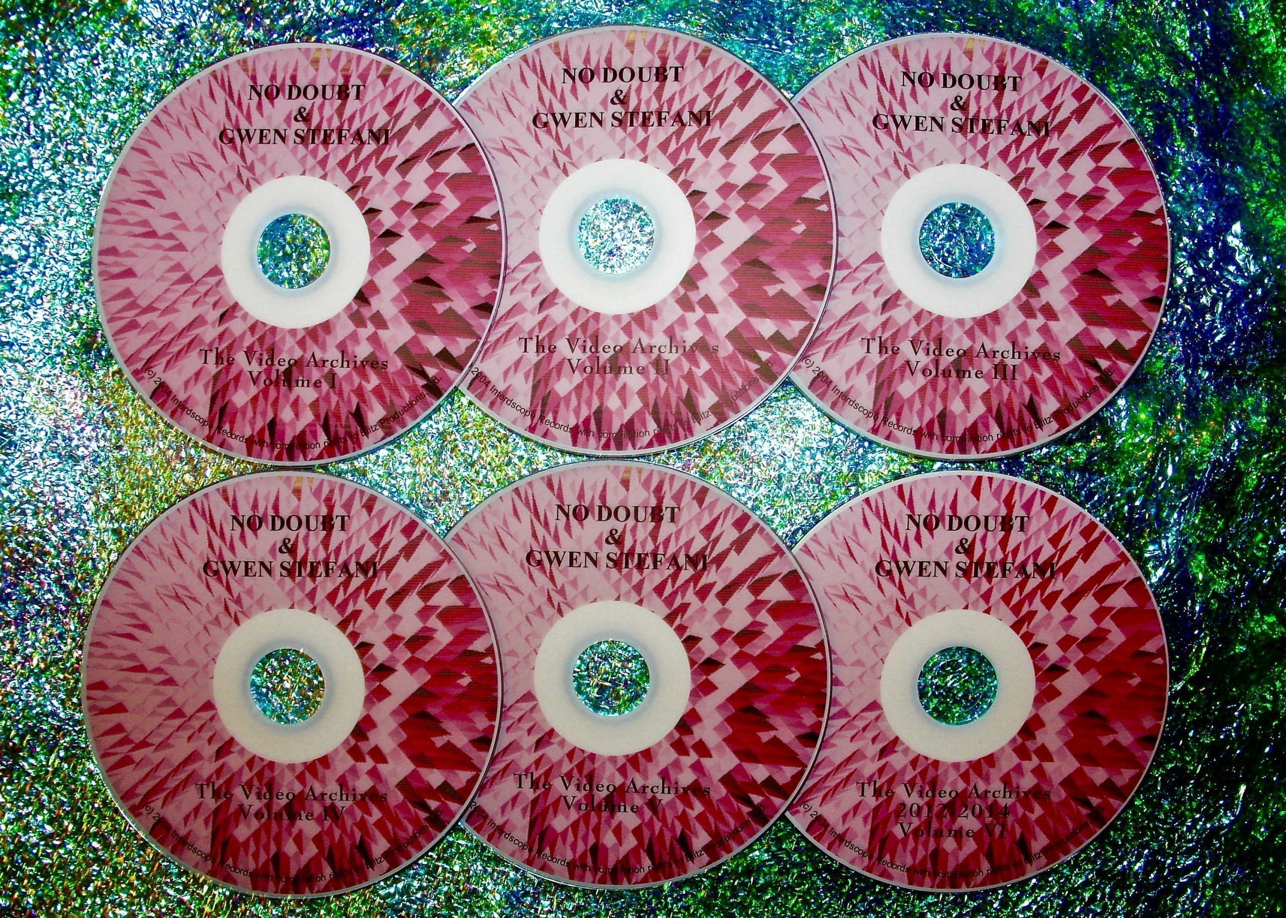 No Doubt / Gwen Stefani Video Archives 1996-2014 (6 DVD Set 12 Hours)