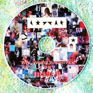 David Bowie The Video Archives 1987 Volume VI (Glass Spider Tour November 6 & 7, 1987 Sydney Australia)