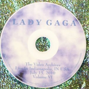 Lady GaGa The Video Archives 2010 (Monster Ball LIVE USA) Volume VI