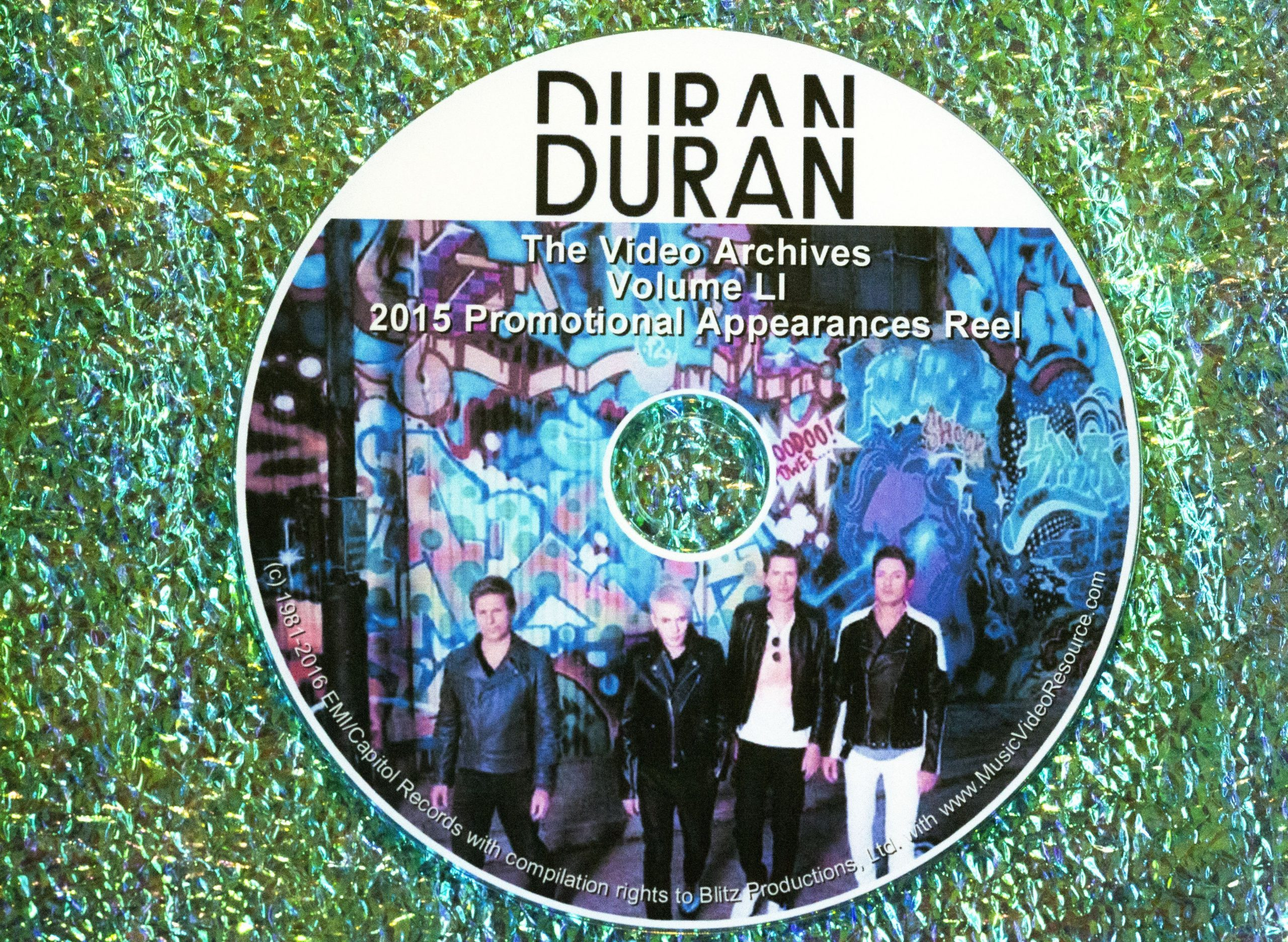 "DURAN DURAN – The Video Archives 2015 ""Paper Gods"" VOLUME LI"