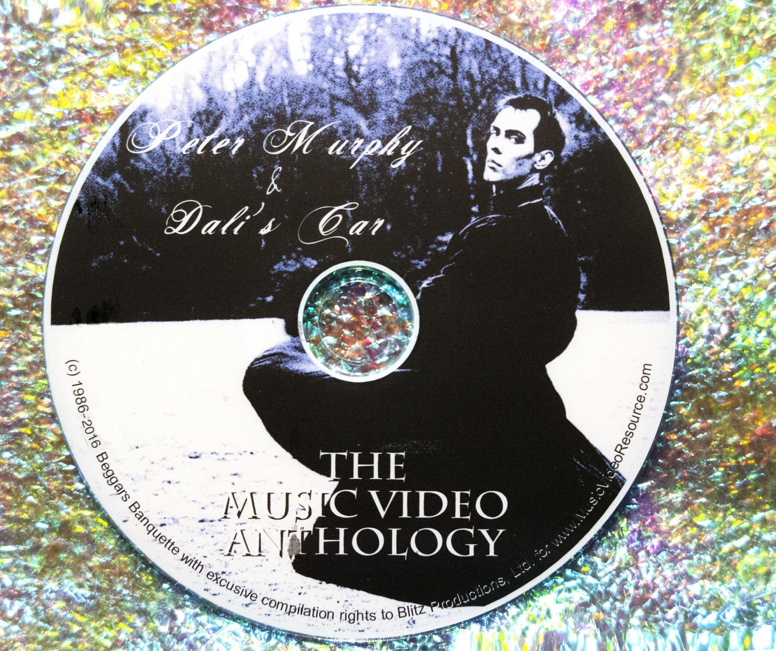 Peter Murphy & Dali's Car The Music Video Collection 1984-2014 (Bauhaus Love and Rockets Mick Karn)