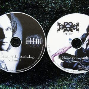 H.I.M. HIM (His Infernal Majesty) & Ville Valo Solo Music Video Anthology 1996-2016 (2 DVD Set 4 Hours)