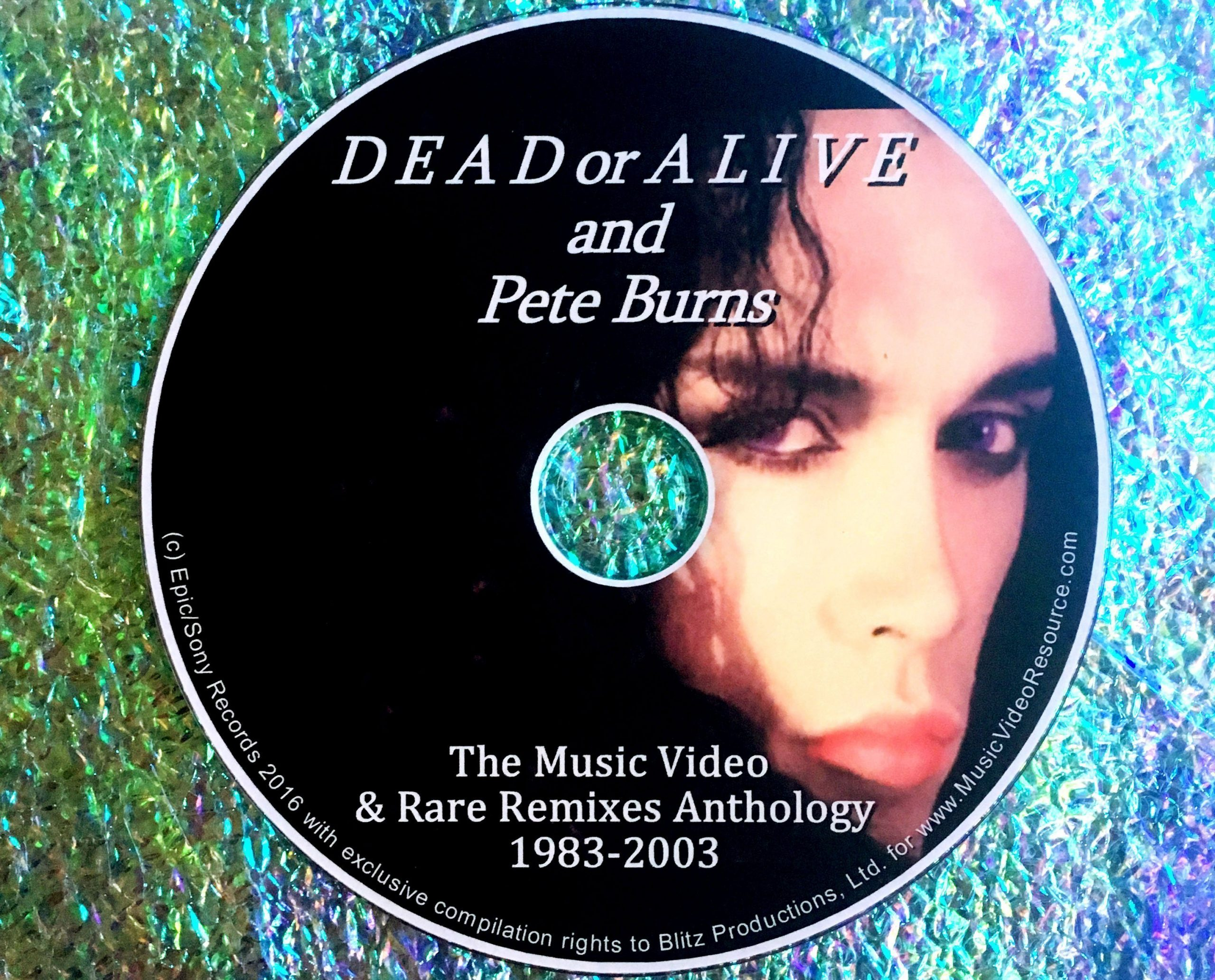 DEAD OR ALIVE / PETE BURNS MUSIC VIDEO & RARE REMIXES ANTHOLOGY 1983-2003 *21 MUSIC VIDEOS!!!* (Region 1 Playable on ALL USA and Canada DVD Players)