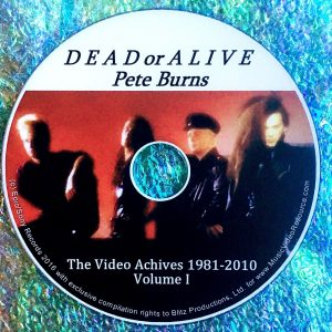 Dead or Alive / Pete Burns The Video Archives 1981-2010 Volume I (Steve Strange)
