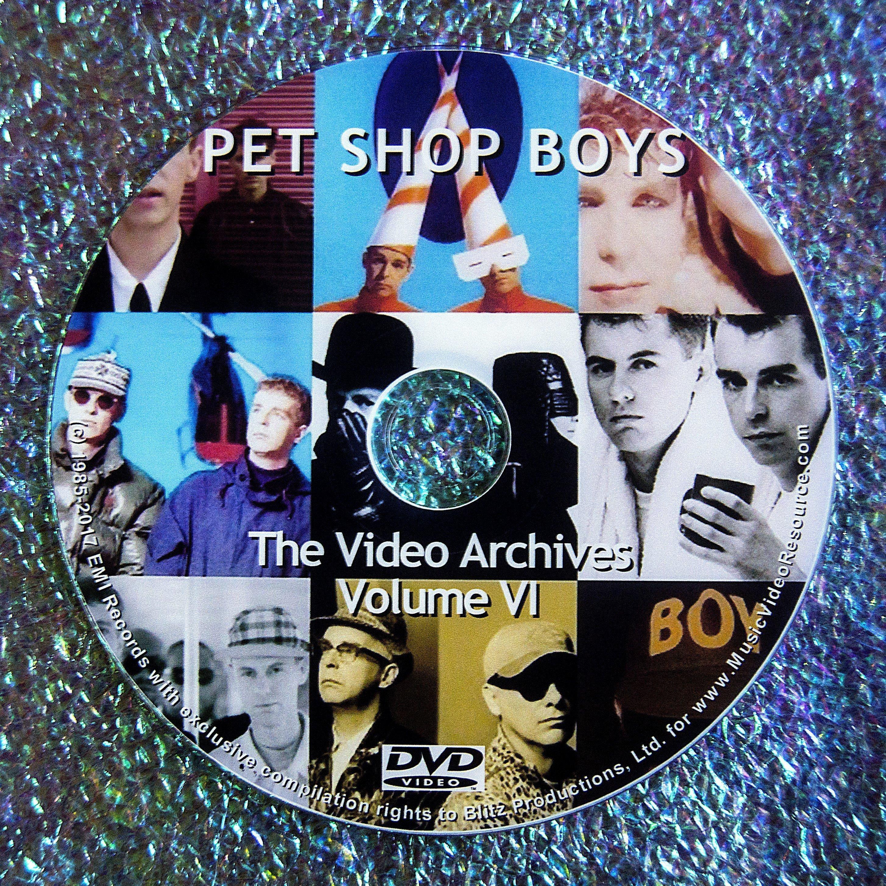 PET SHOP BOYS VIDEO ARCHIVES 2014-2016 VOLUME VI