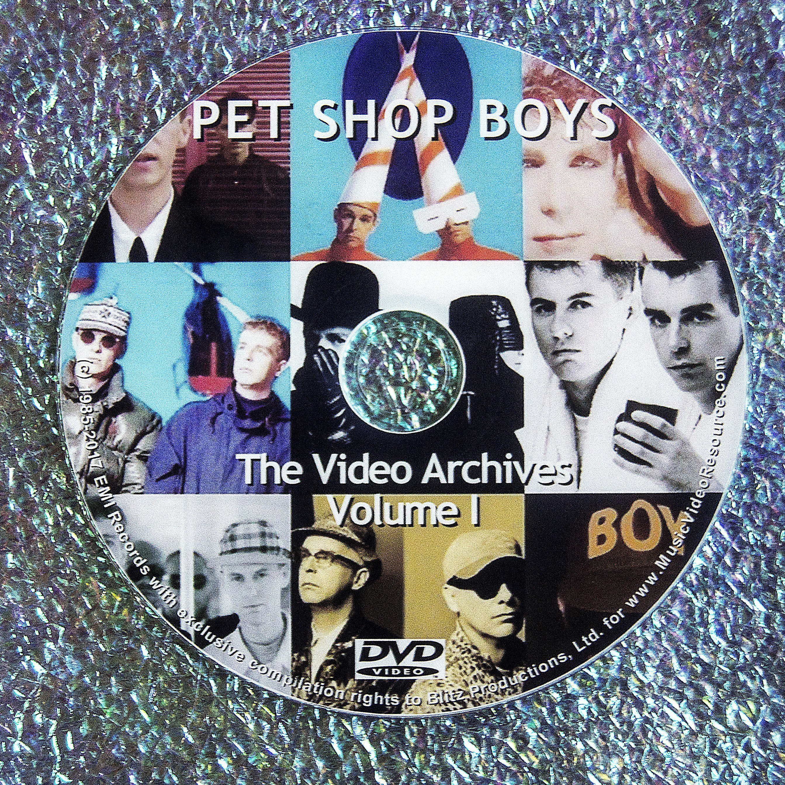 PET SHOP BOYS VIDEO ARCHIVES   VOLUME I
