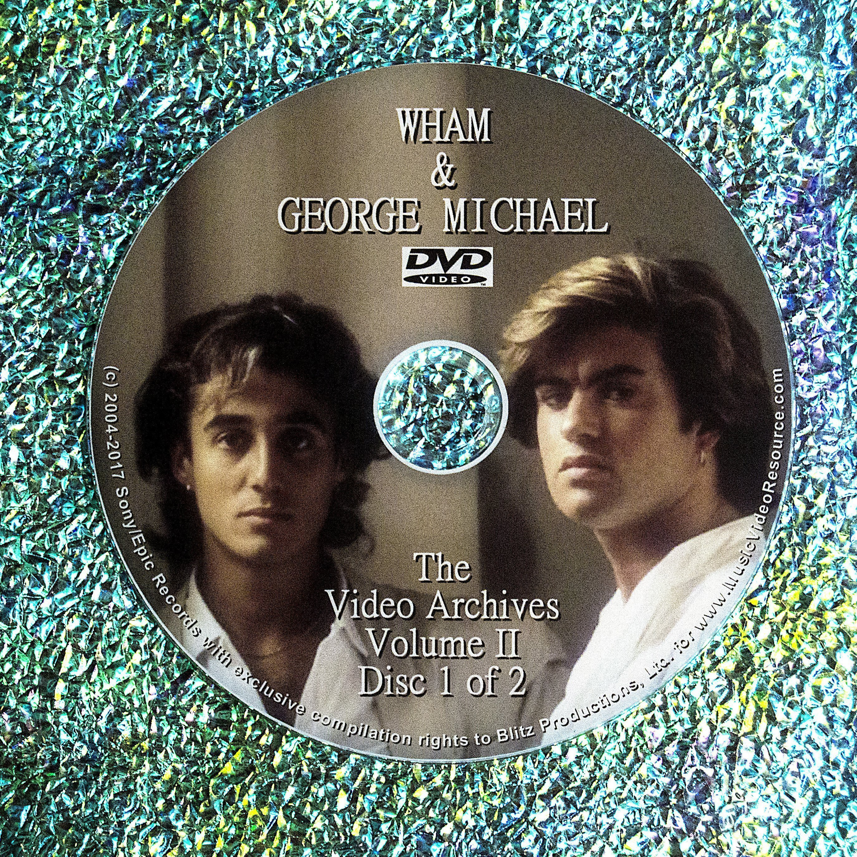 WHAM / George Michael: Video Archives DVD Volume II (2 DVD Set)