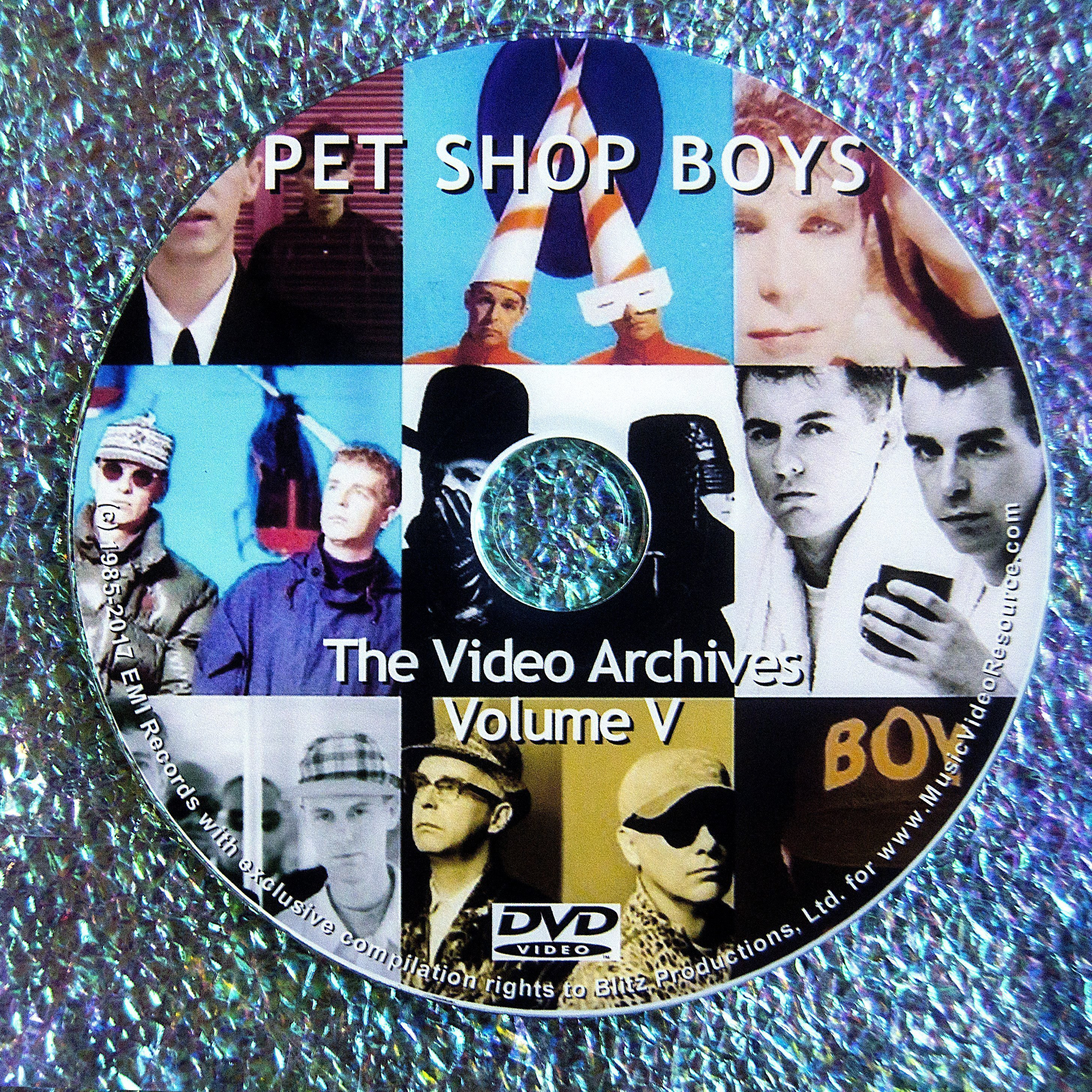 PET SHOP BOYS VIDEO ARCHIVES 2011 VOLUME V
