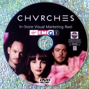 CHVRCHES The Music Video Anthology 2013-2017 (containing TWENTY ONE music videos)