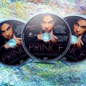 Prince and The NPG Live at Auditorium Stravinski in Montreux, Switzerland July 13th, 14th and 15th 2013 3 DVD Set