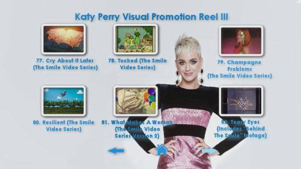 KATY PERRY DVD Reel 3 Menu Page 4